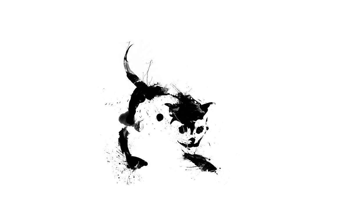 20 Illustration abstract Cats example image 4