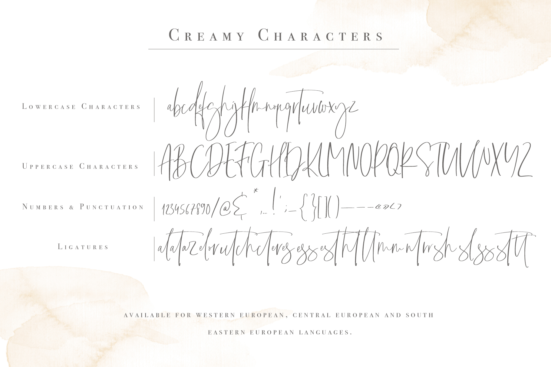 Creamy | Handwritten Font example image 10