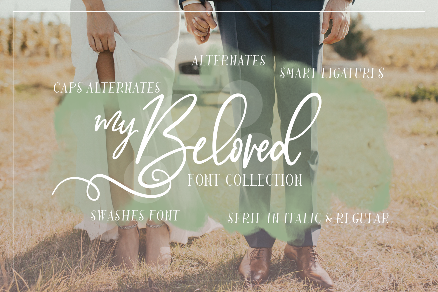 My Beloved ~ Script & Serif Font example image 7