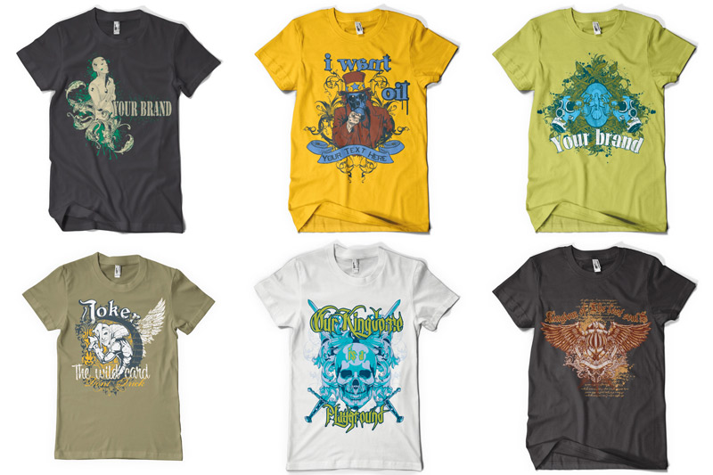 100 T-shirt Designs Vol 1 example image 9