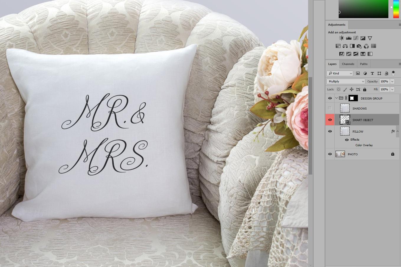 Pillow Mock-up Big Bundle example image 8