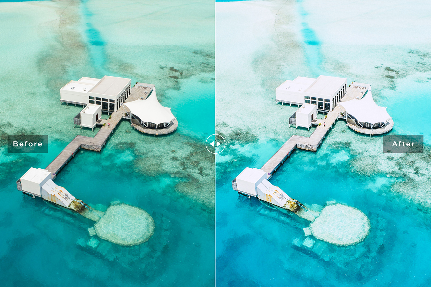 Cabana Beach Mobile & Desktop Lightroom Presets example image 2