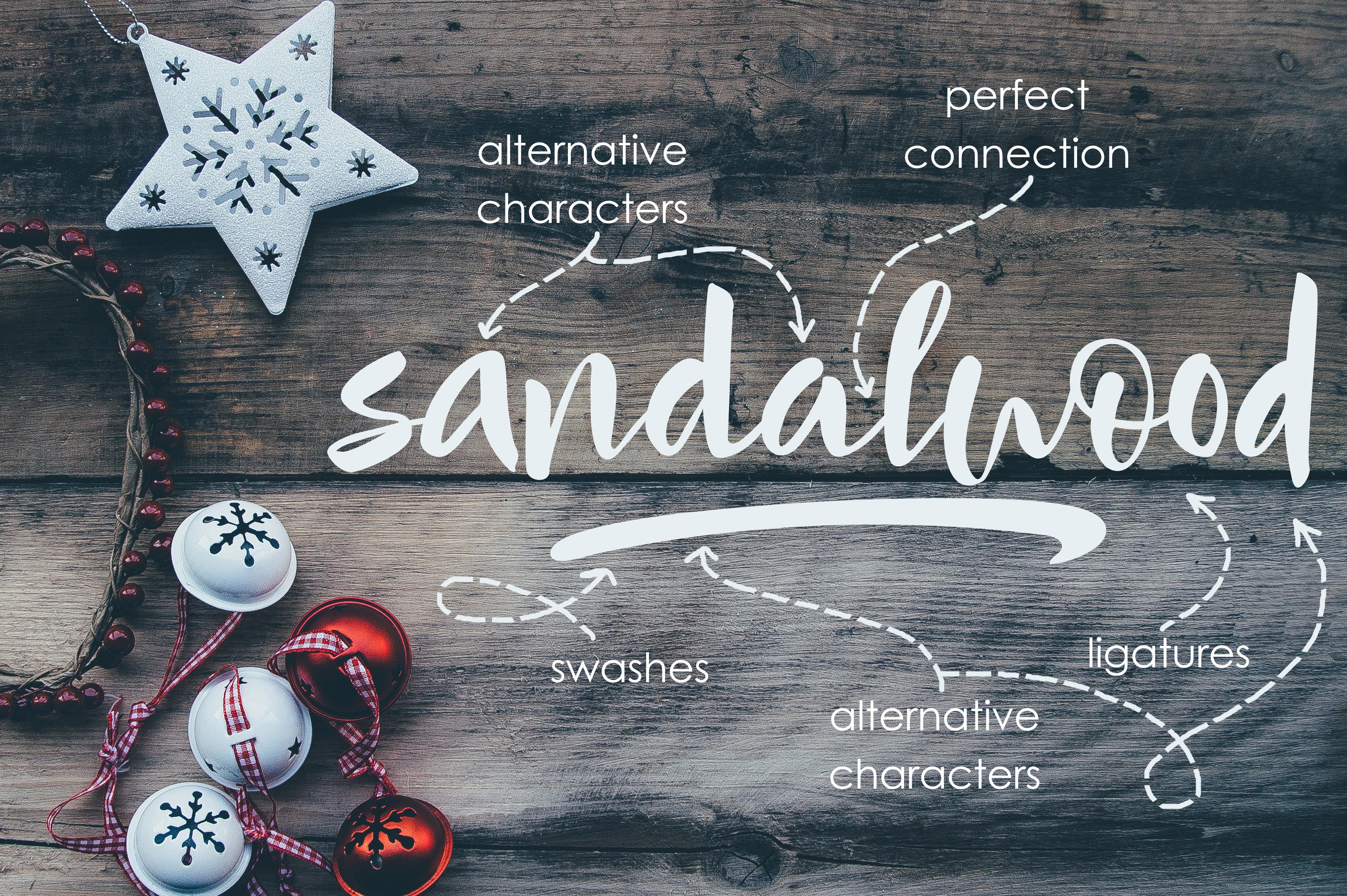 Mindfulness - handwritten font example image 6