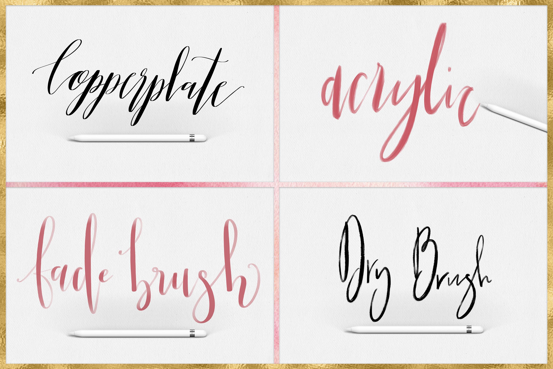 Download Procreate Lettering Brushes + Bonus