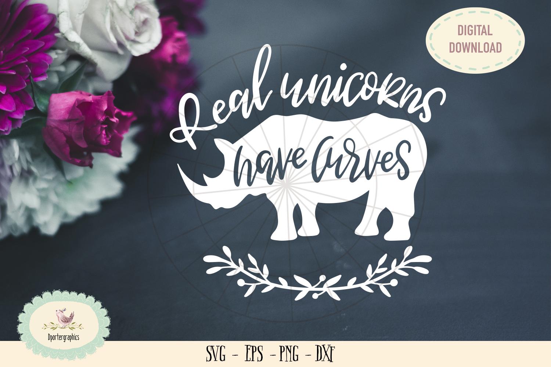 Real unicorns have curves SVG cut unicorns die cut example image 1