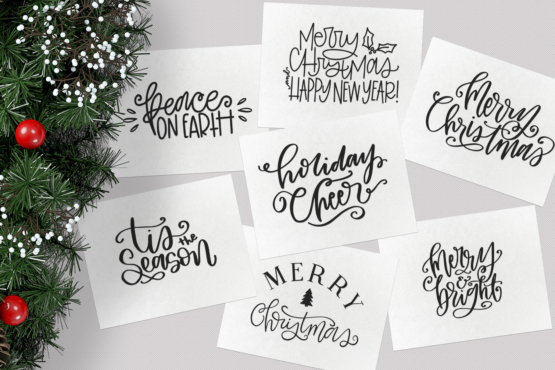 Christmas Symbols Font - Volume 2 example image 2