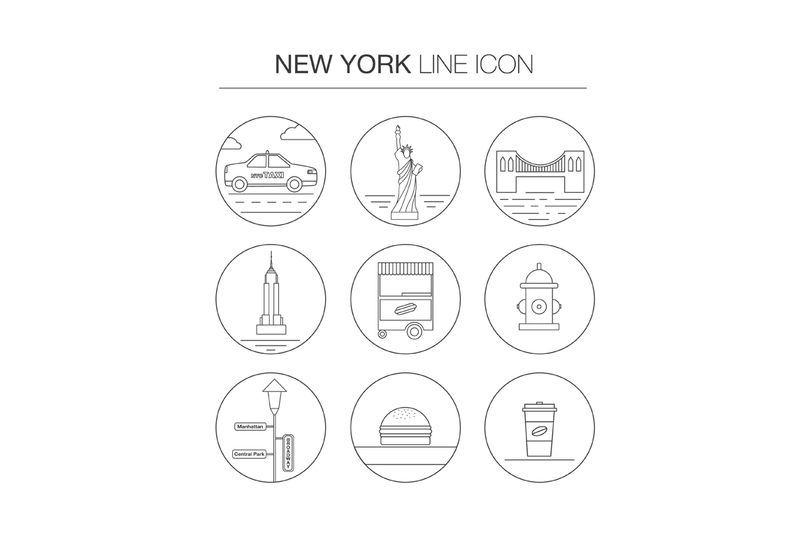 NEW YORK vector collection example image 8