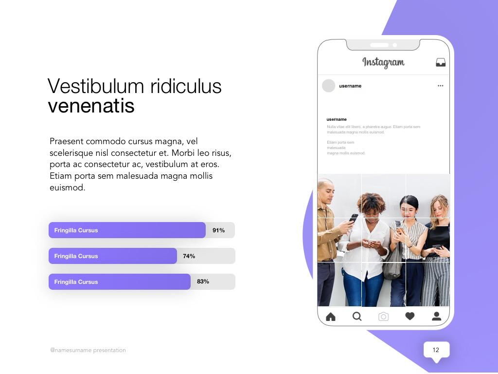 Influencer Marketing Google Slides Template example image 13
