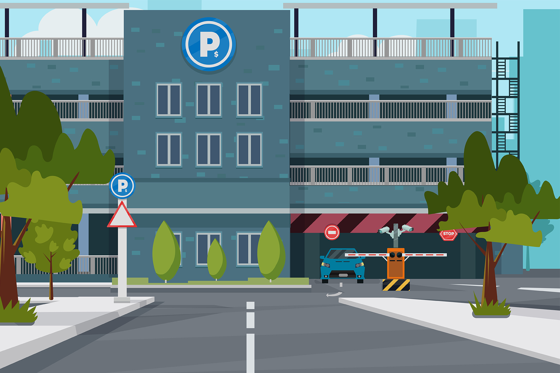 City Parking Place example image 1