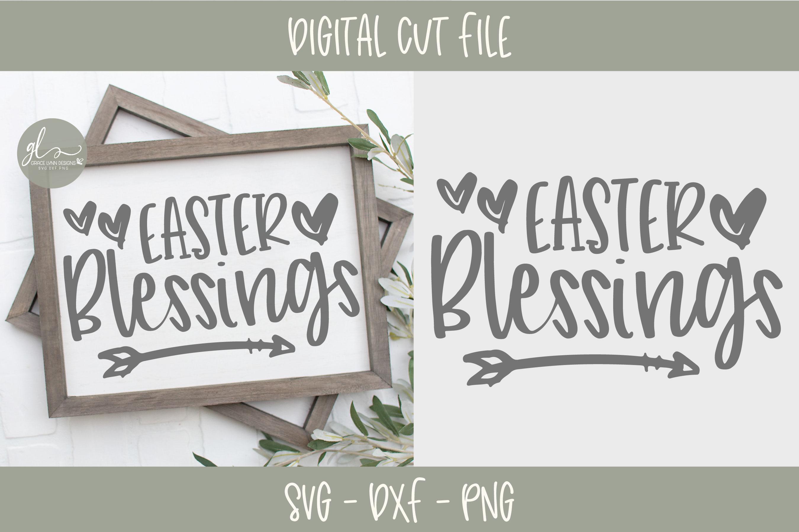 Easter SVG Bundle - 12 Easter Designs - SVG, DXF & PNG example image 5