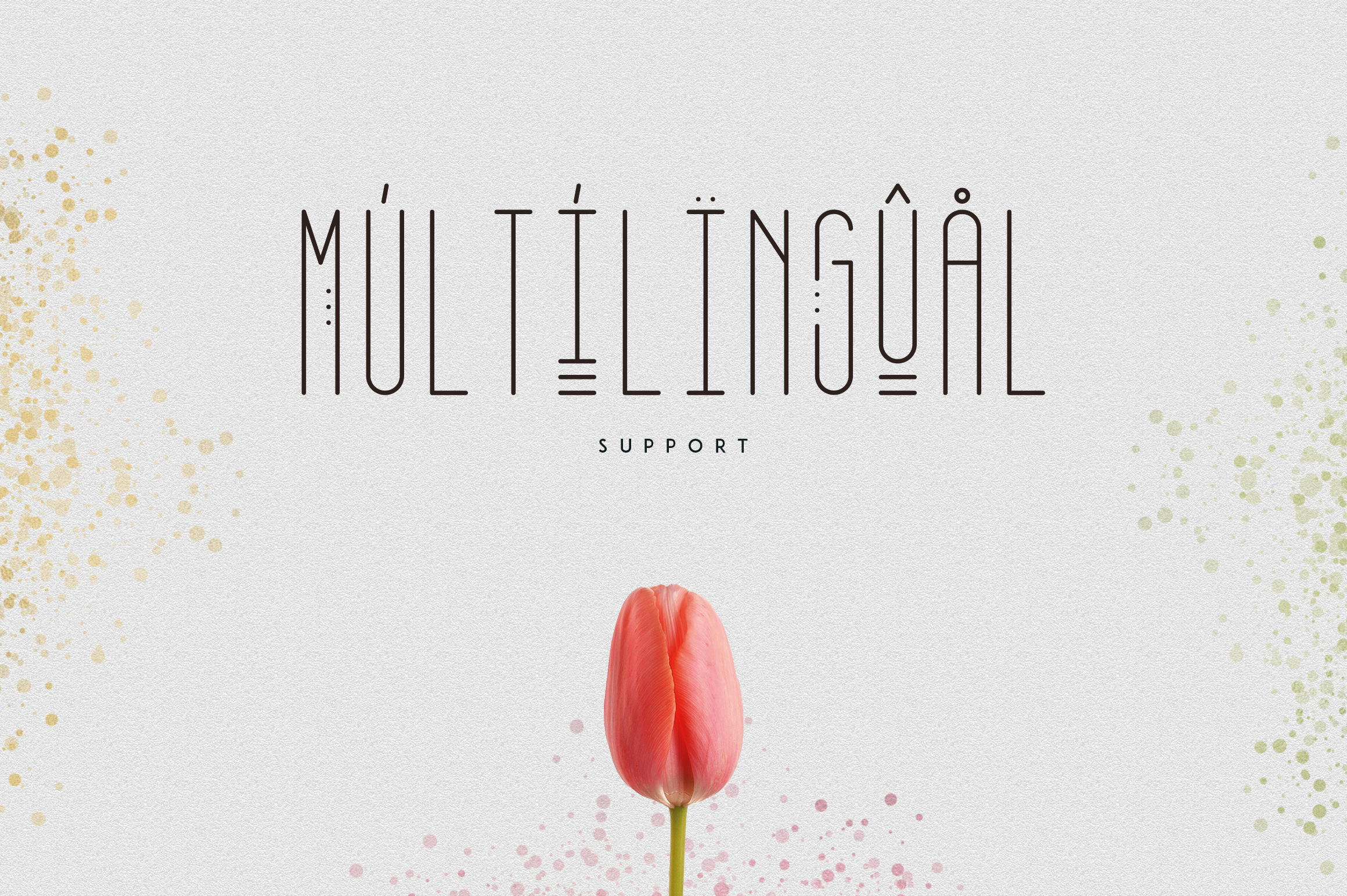 [Spring Vibes] April Display Font example image 5
