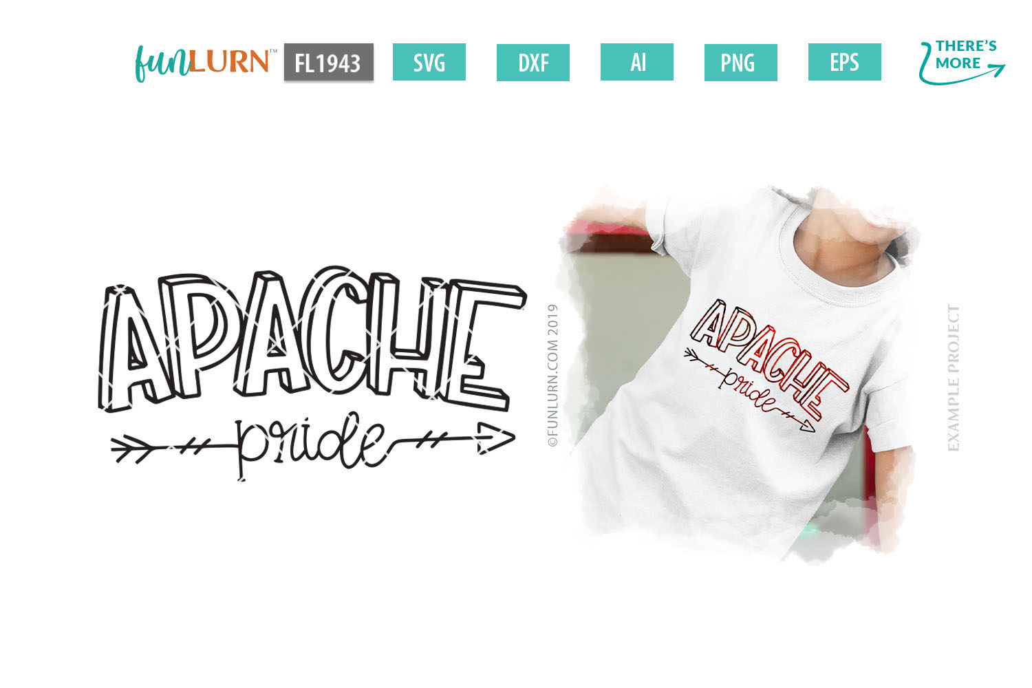 Apache Pride Team SVG Cut File example image 1