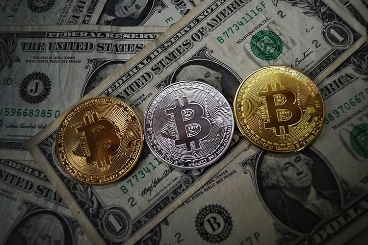 Cryptocurrency Coins. Bitcoin, Ripple and Ethereum JPEG Set example image 9