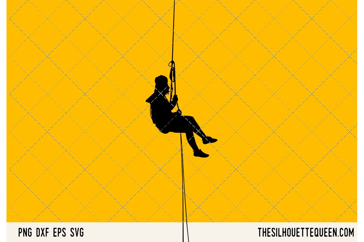 Abseiling SVG example image 1
