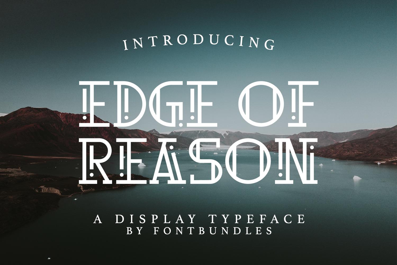 Edge Of Reason example image 1