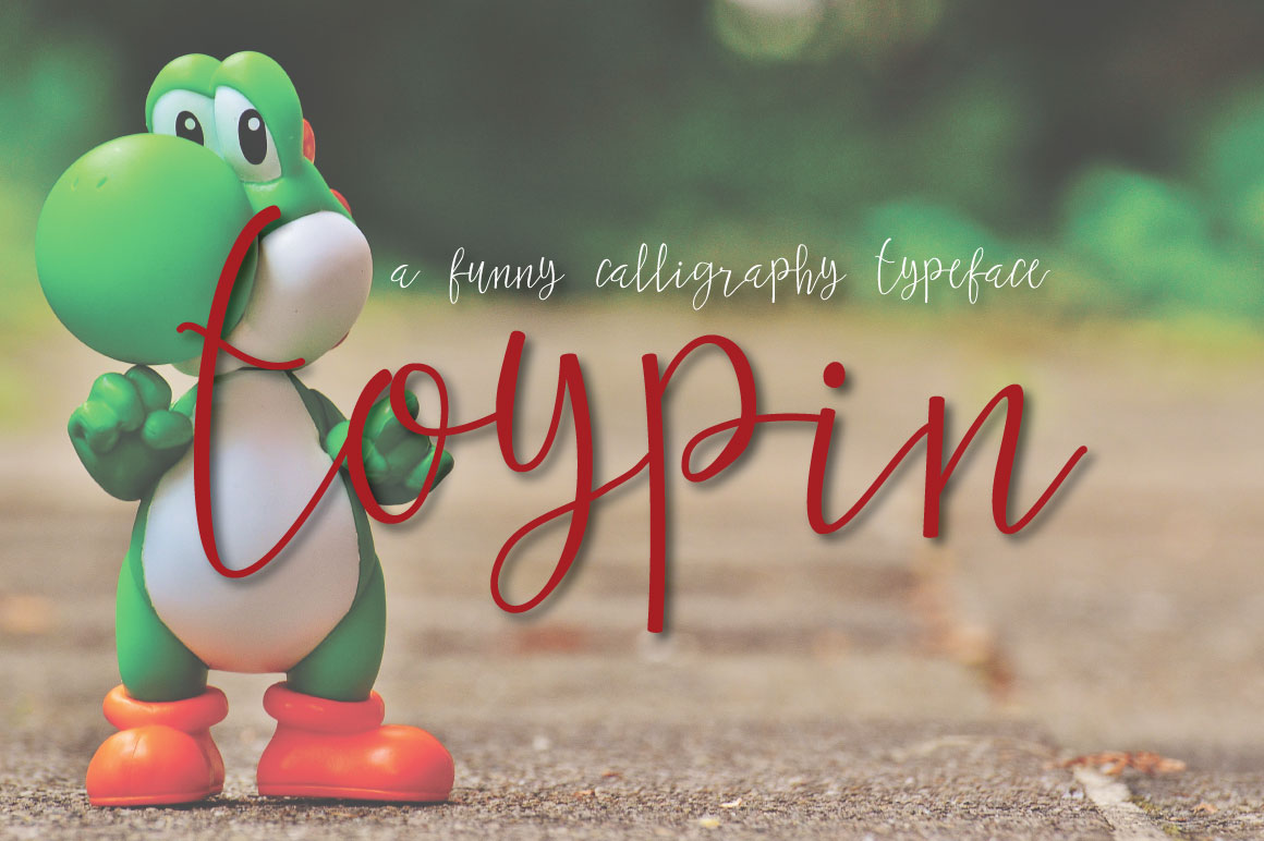 Toypin Typeface example image 6
