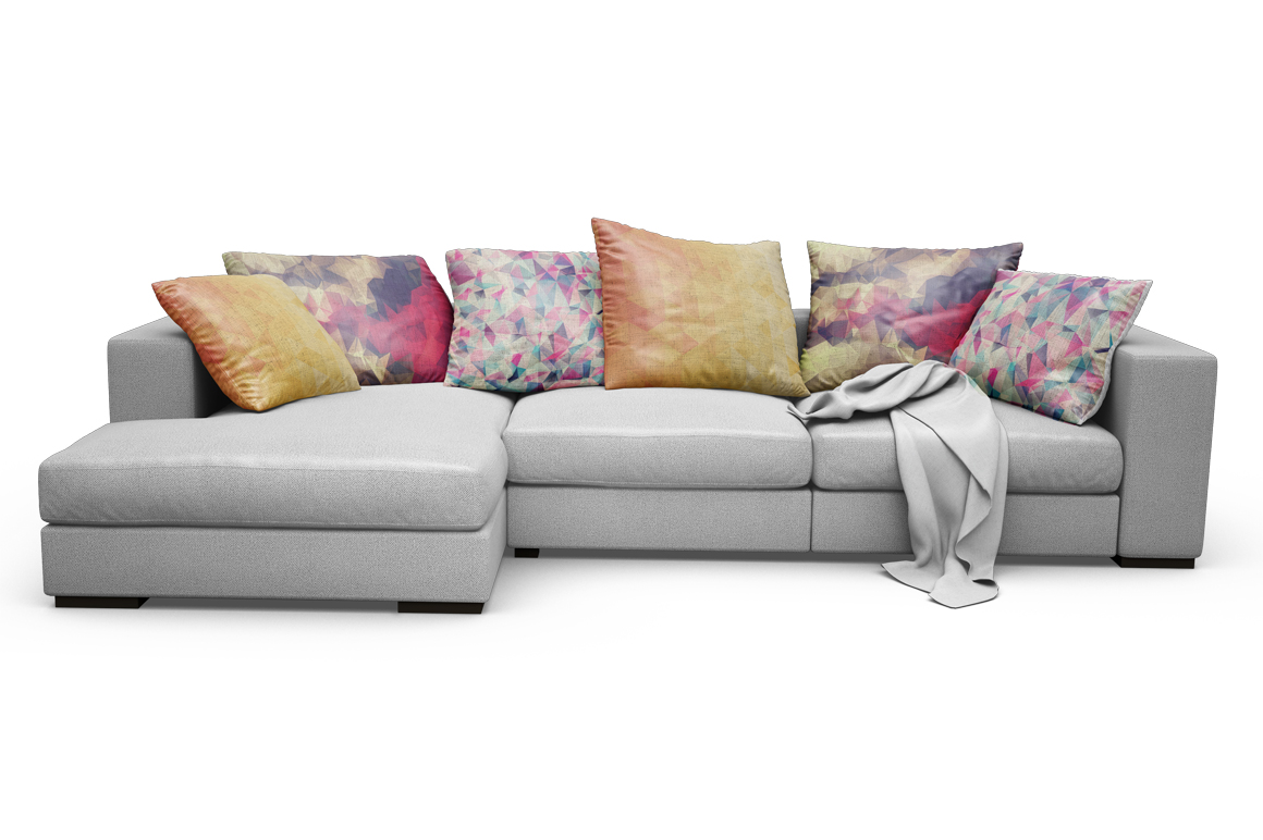 Sofa-Pillows Mockup example image 9