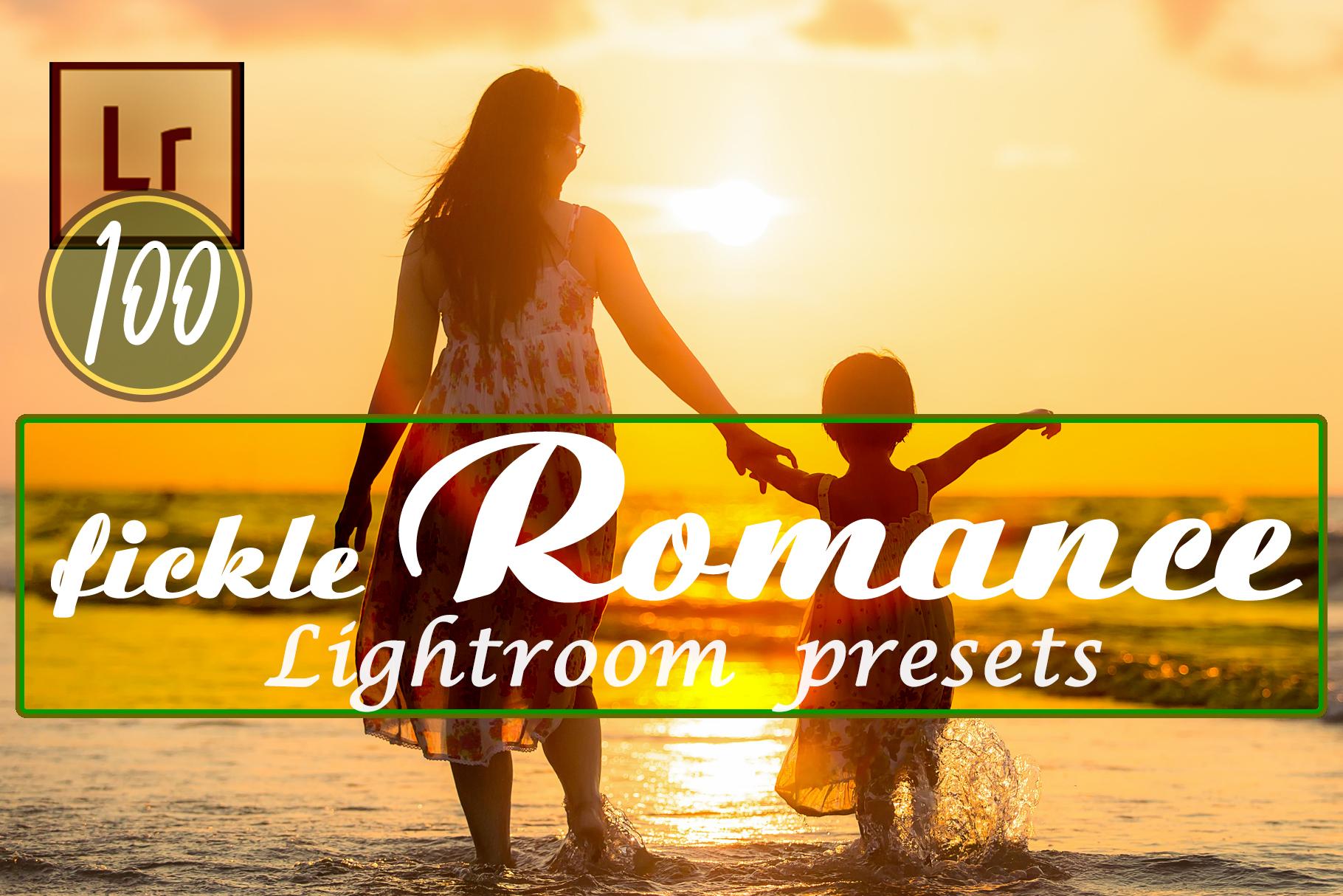 Fickle Romance Lightroom Presets example image 13