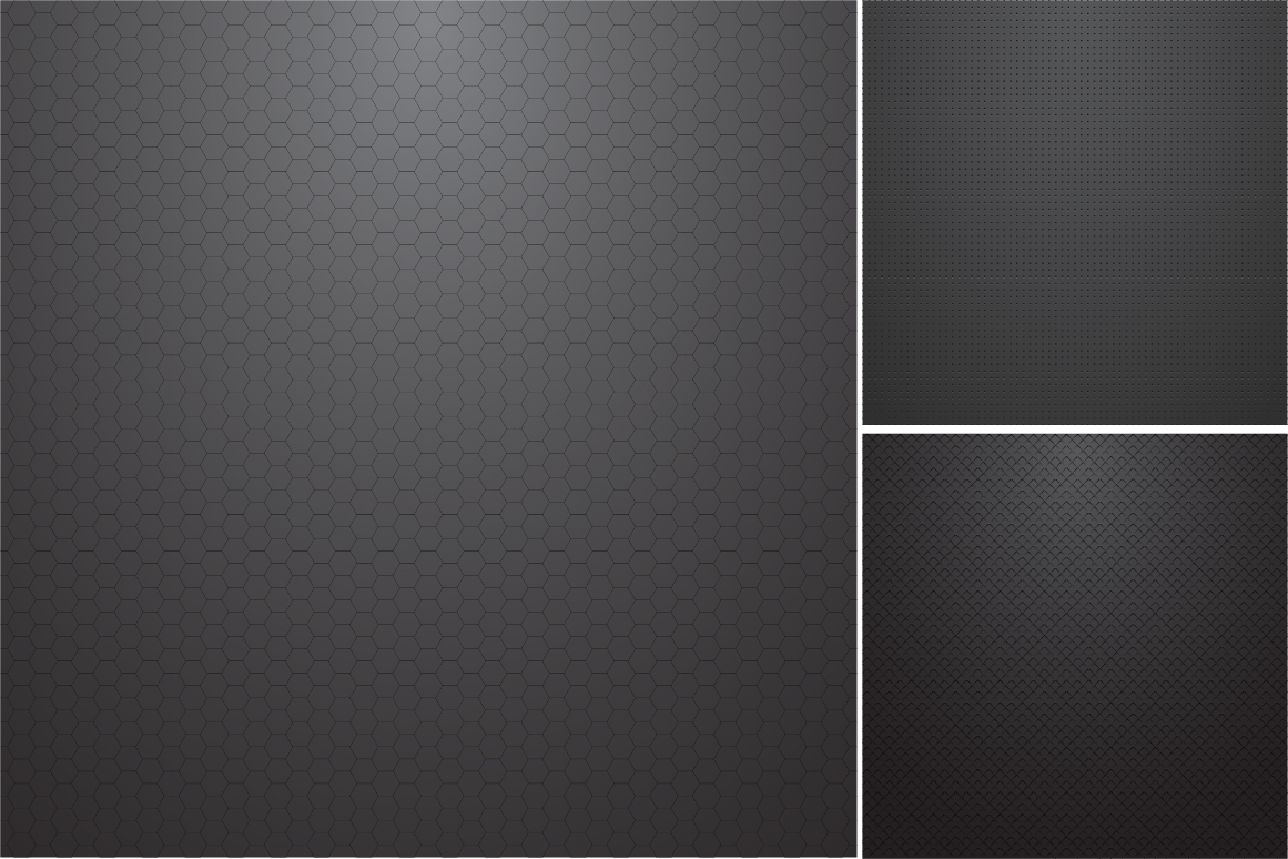 Collection of dark metal textures. example image 7