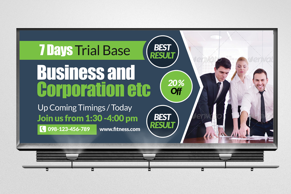 Business Agency Billboard Banners example image 2