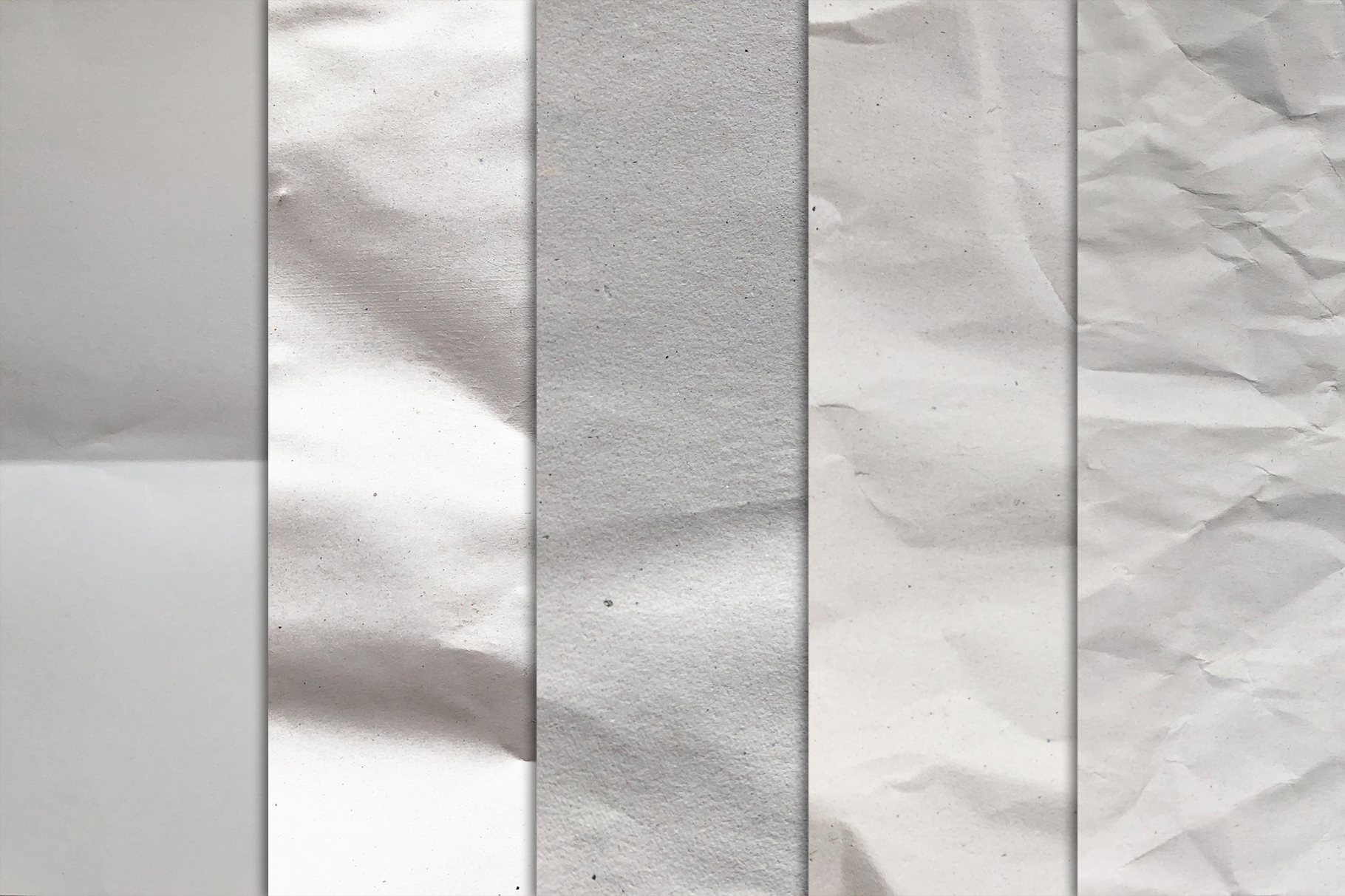 Crumpled Paper Textures x10 example image 3