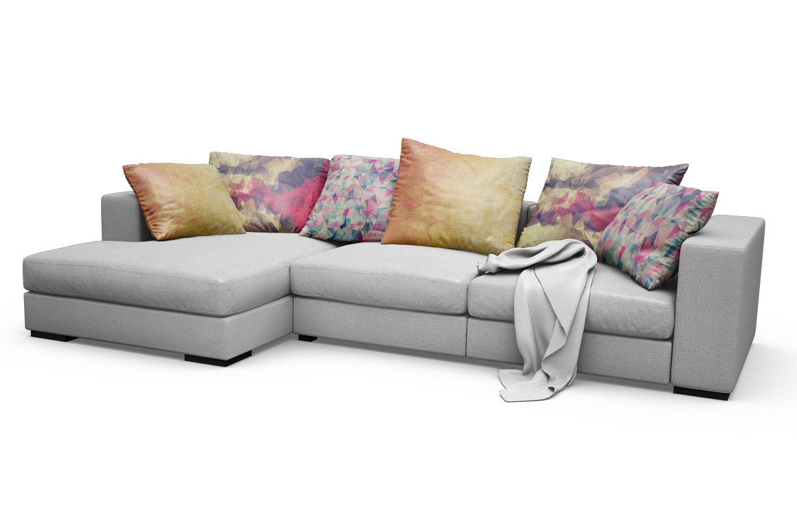 Sofa-Pillows Mockup example image 13