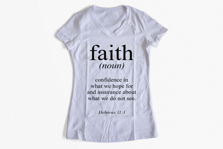 Bible verse SVG Faith definition SVG PNG EPS DXF Hebrews 11:1 svg example image 2