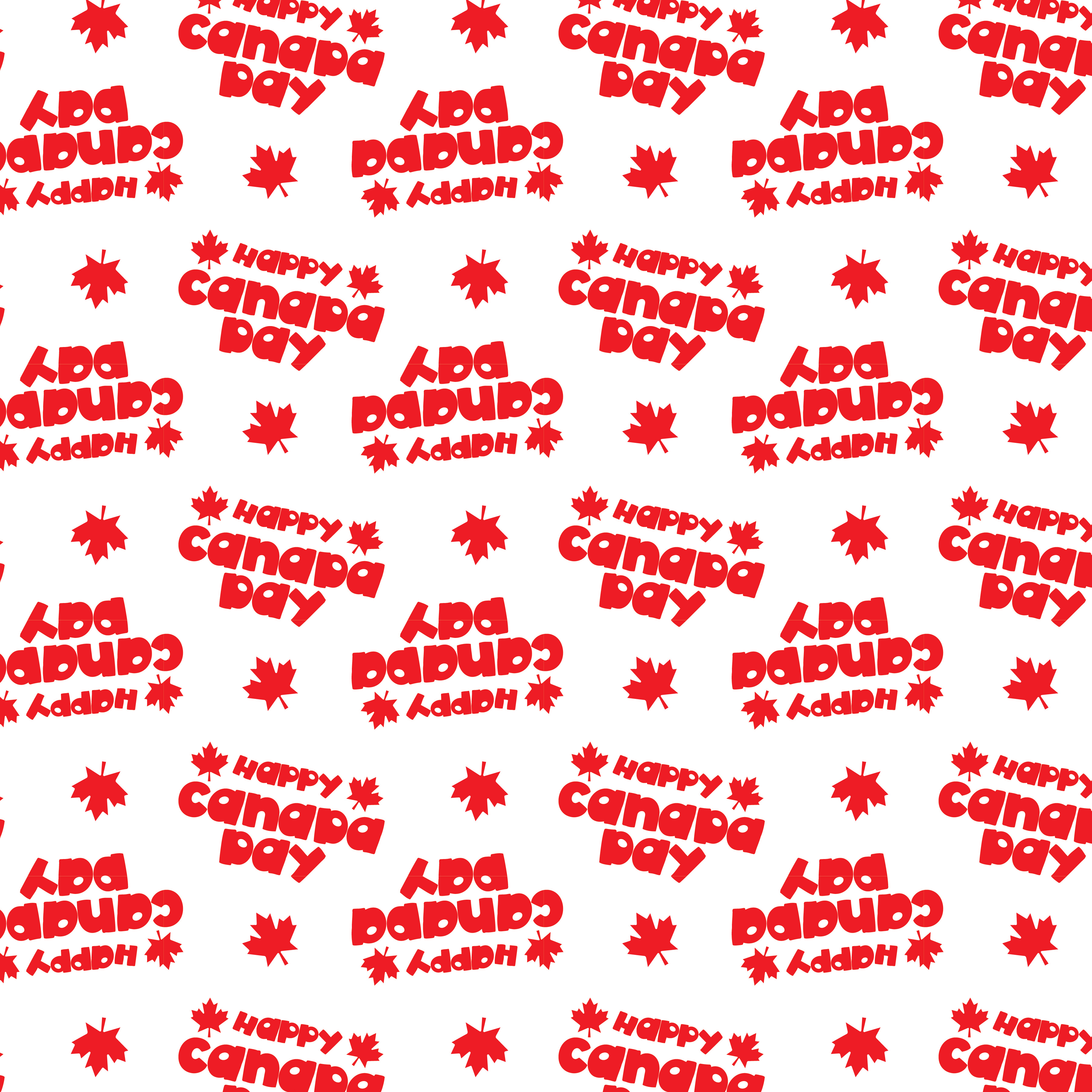 CANADA-DAY, digital papers example image 5
