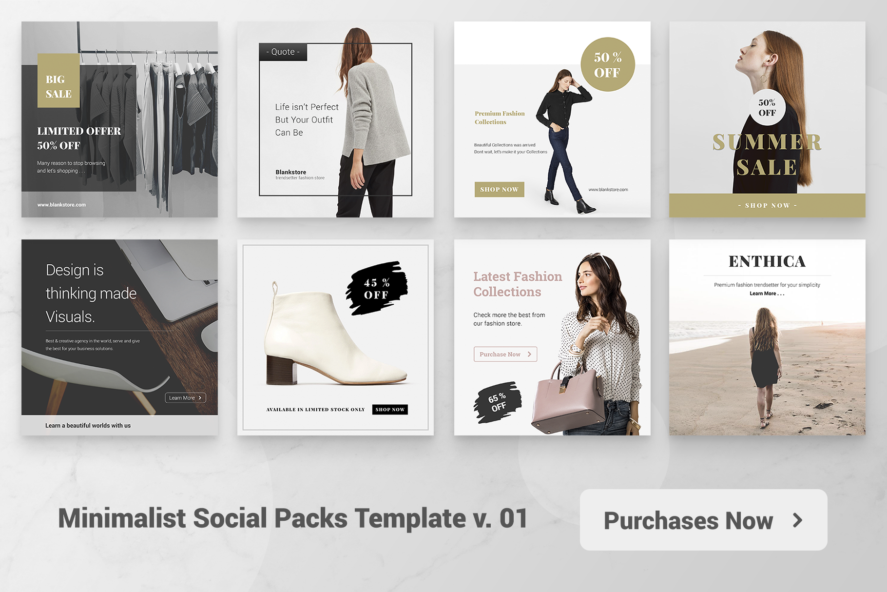 Minimal Social Packs v. 01 example image 6