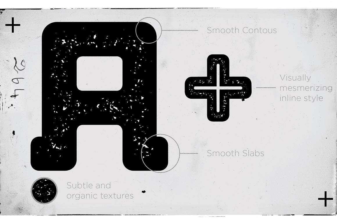 Bebop Slab Serif Font Family example image 3
