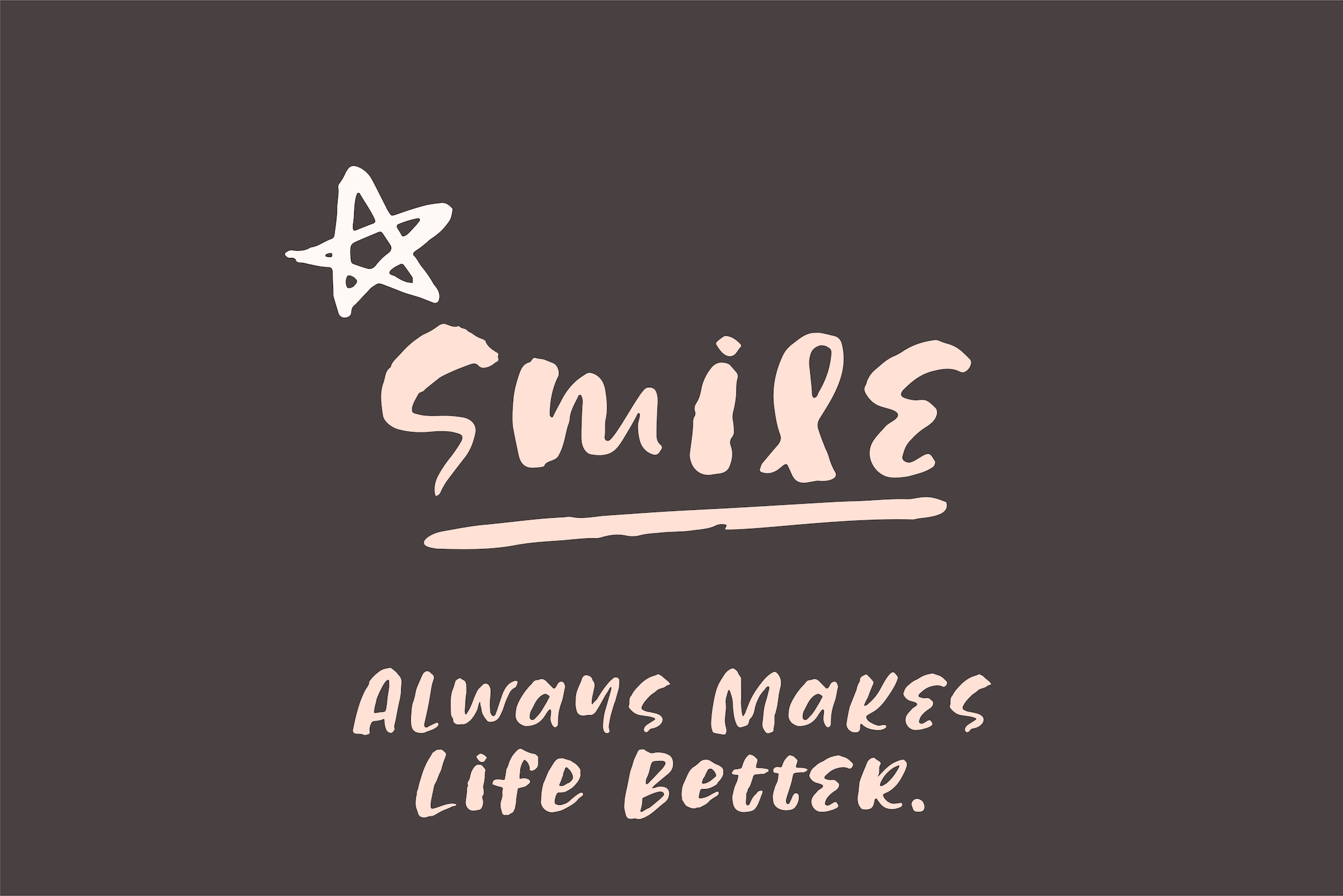 Share Smile - Brush Font Dingbats example image 5