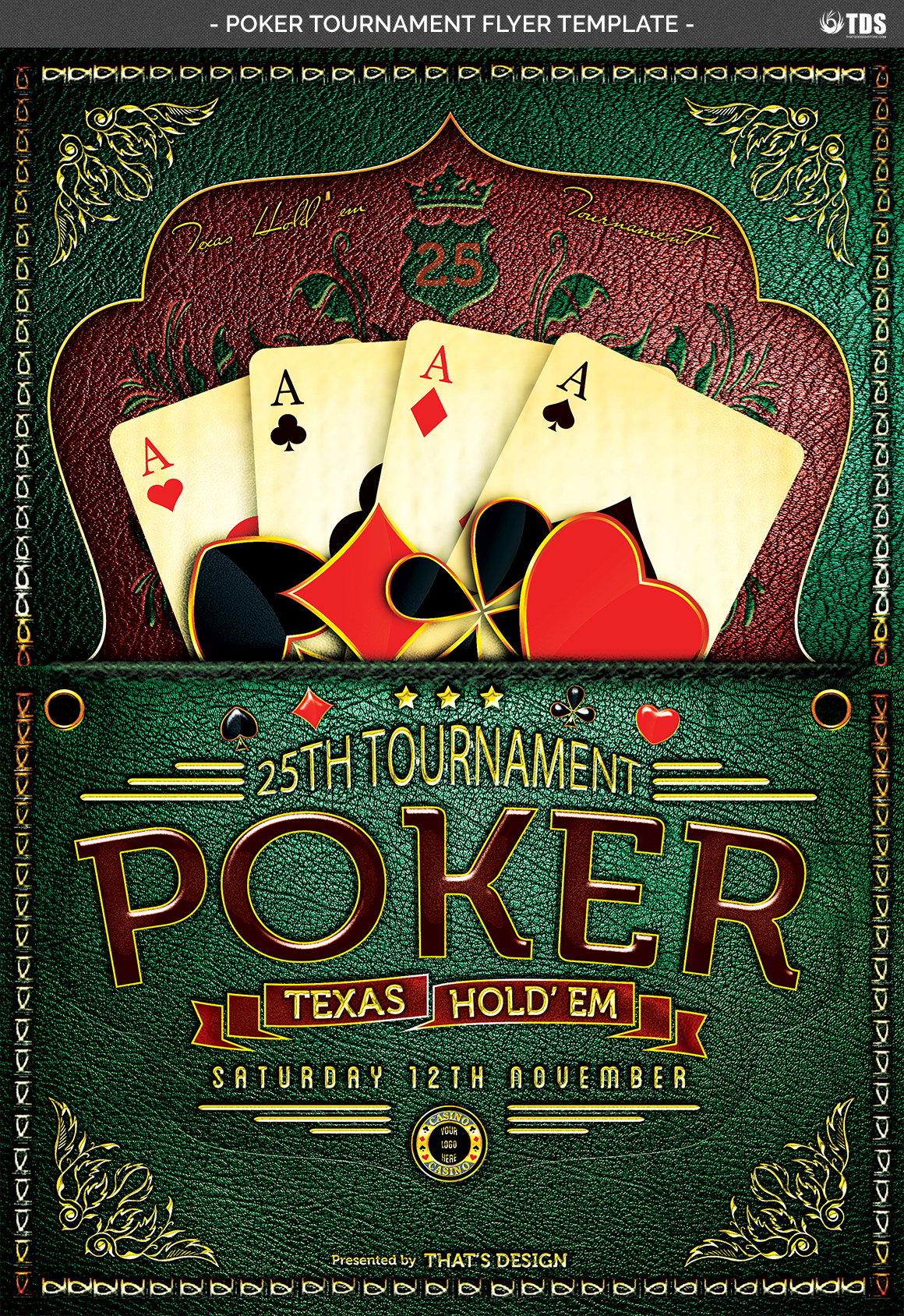 Poker Tournament Flyer Template example image 6