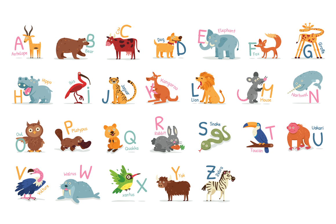 Animal Alphabet example image 4