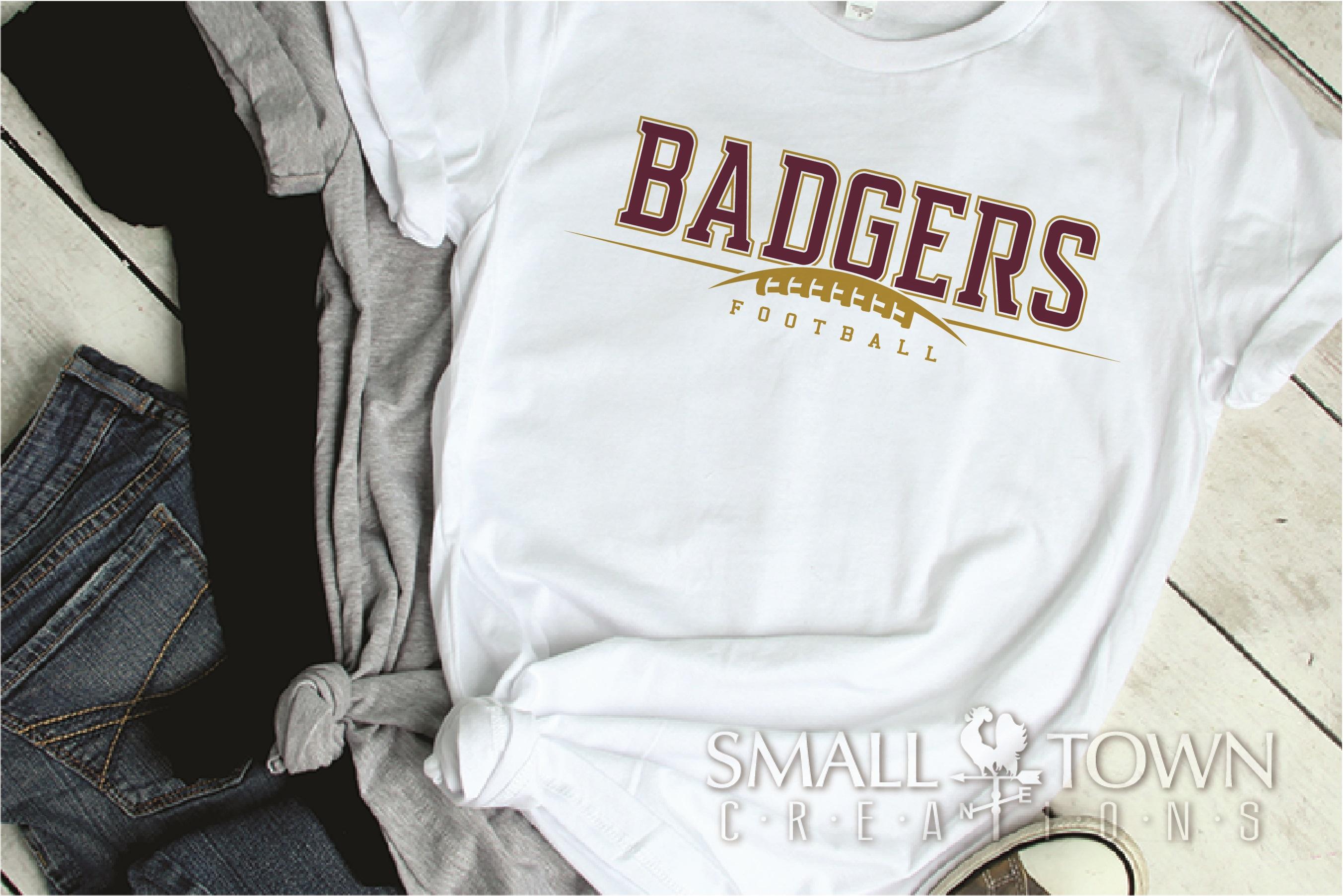 Badger, Badger Football Team, Sport, PRINT, CUT & DESIGN example image 2
