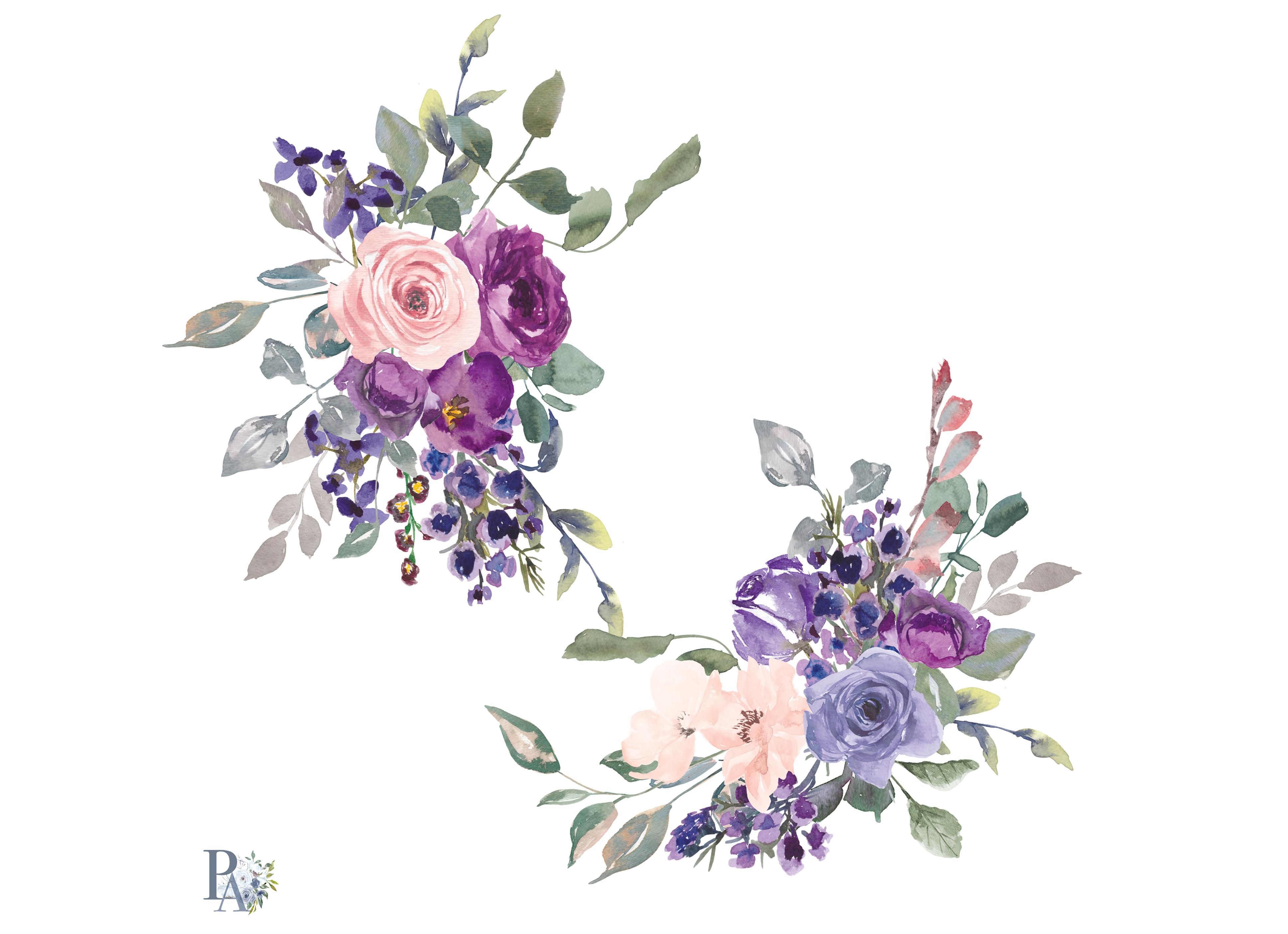 Стихами марта, акварельные картинки цветов для приглашений