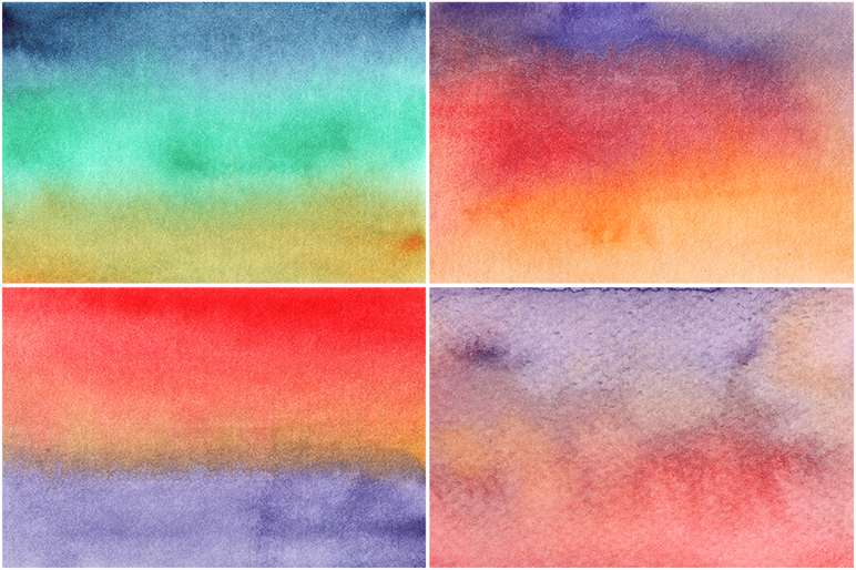 50 Watercolor Backgrounds 04 example image 5