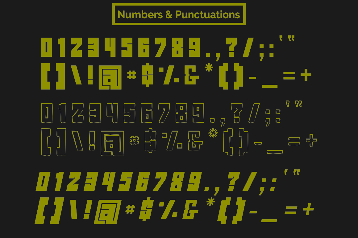 ROCKS Font example image 8