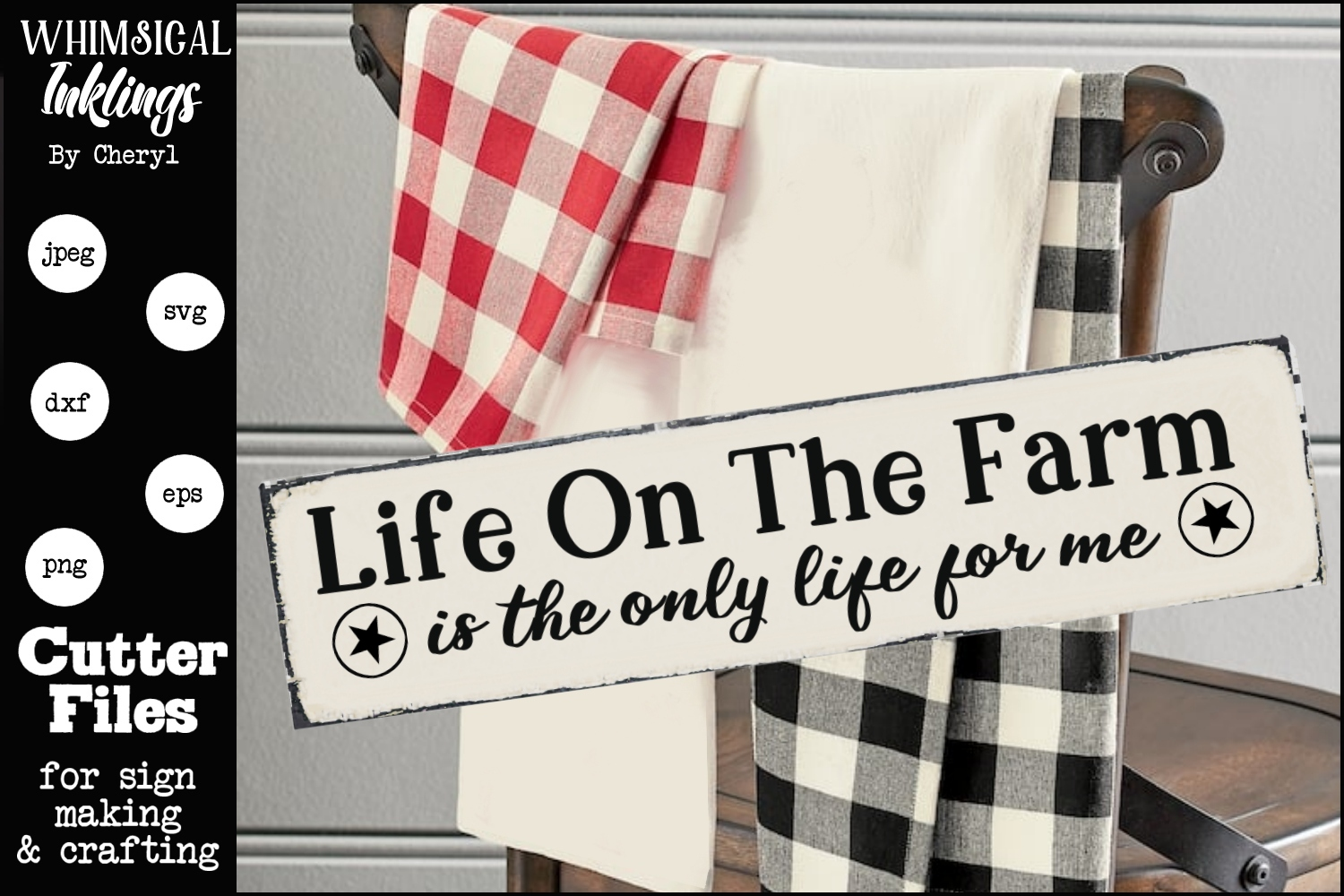 Life On The Farm SVG example image 1