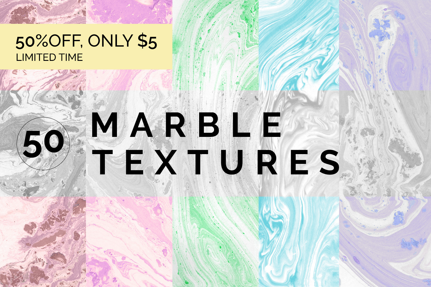 Marble Paper Textures Vol.1 example image 1