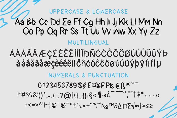 Surf Breaks - Font Family & Bonus example image 8