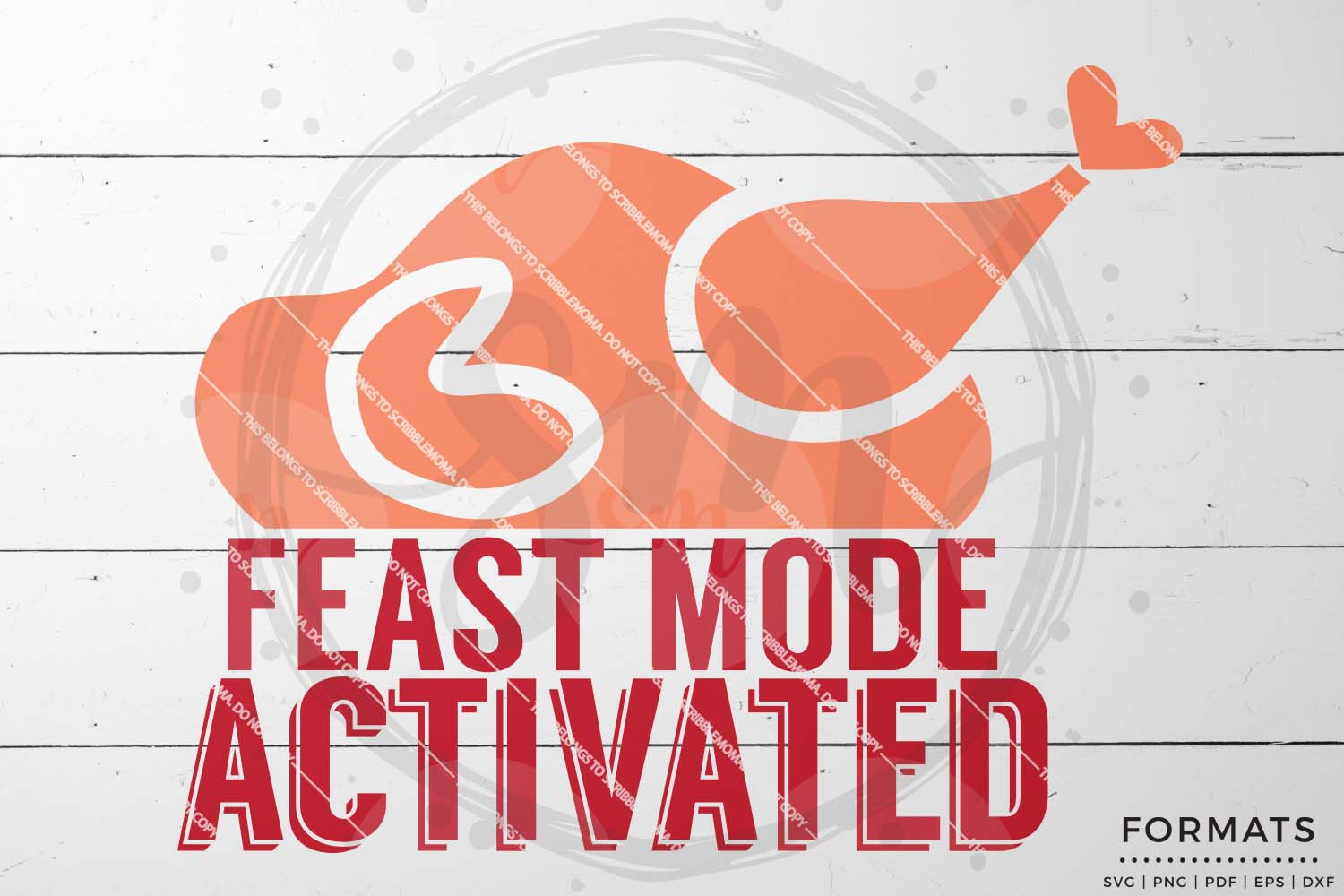 Feast Mode Activated SVG - Thanksgiving svg example image 1