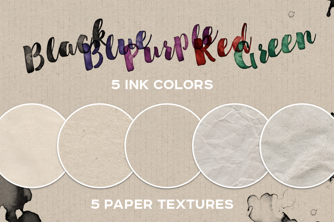 INKBOX: Realistic Ink Effects example image 4