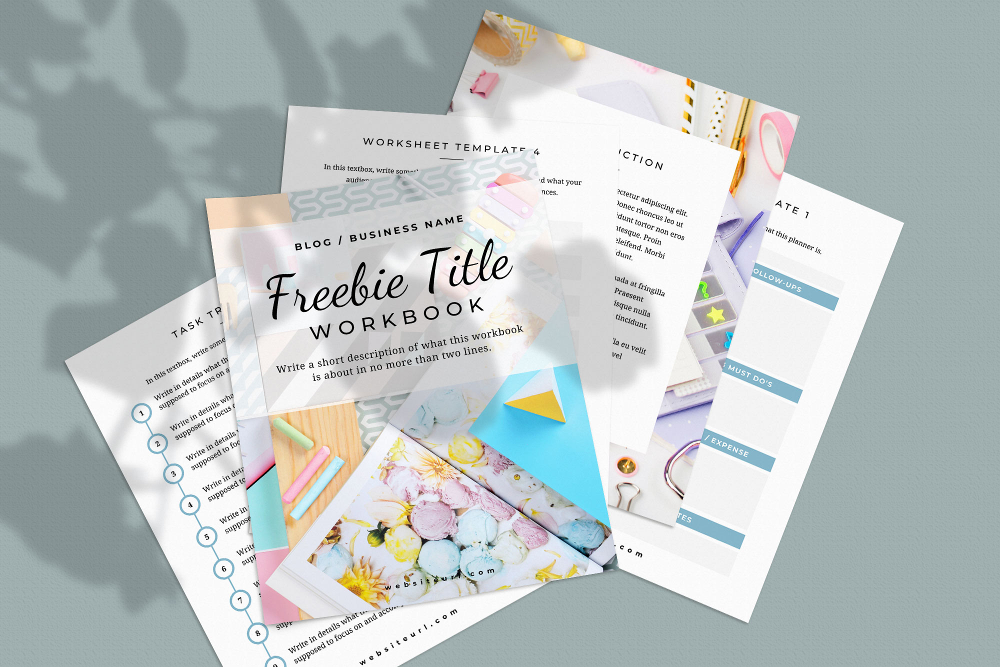 Workbook or Opt-in Freebie Canva Template | Colfax example image 7