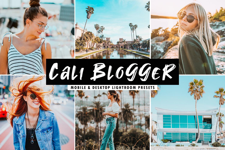 Cali Blogger Mobile & Desktop Lightroom Presets example image 1