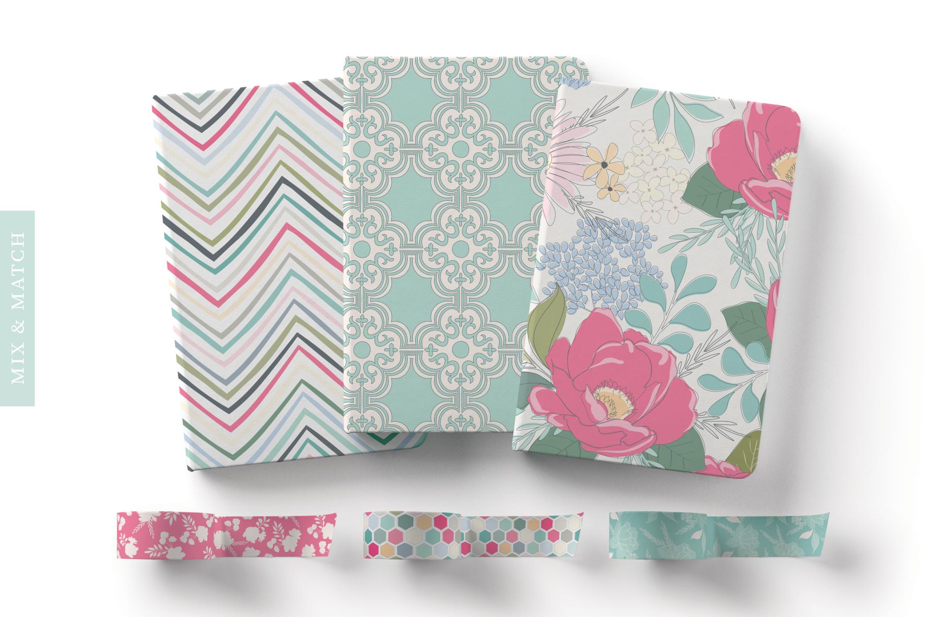 Floral Pattern Design Set example image 5
