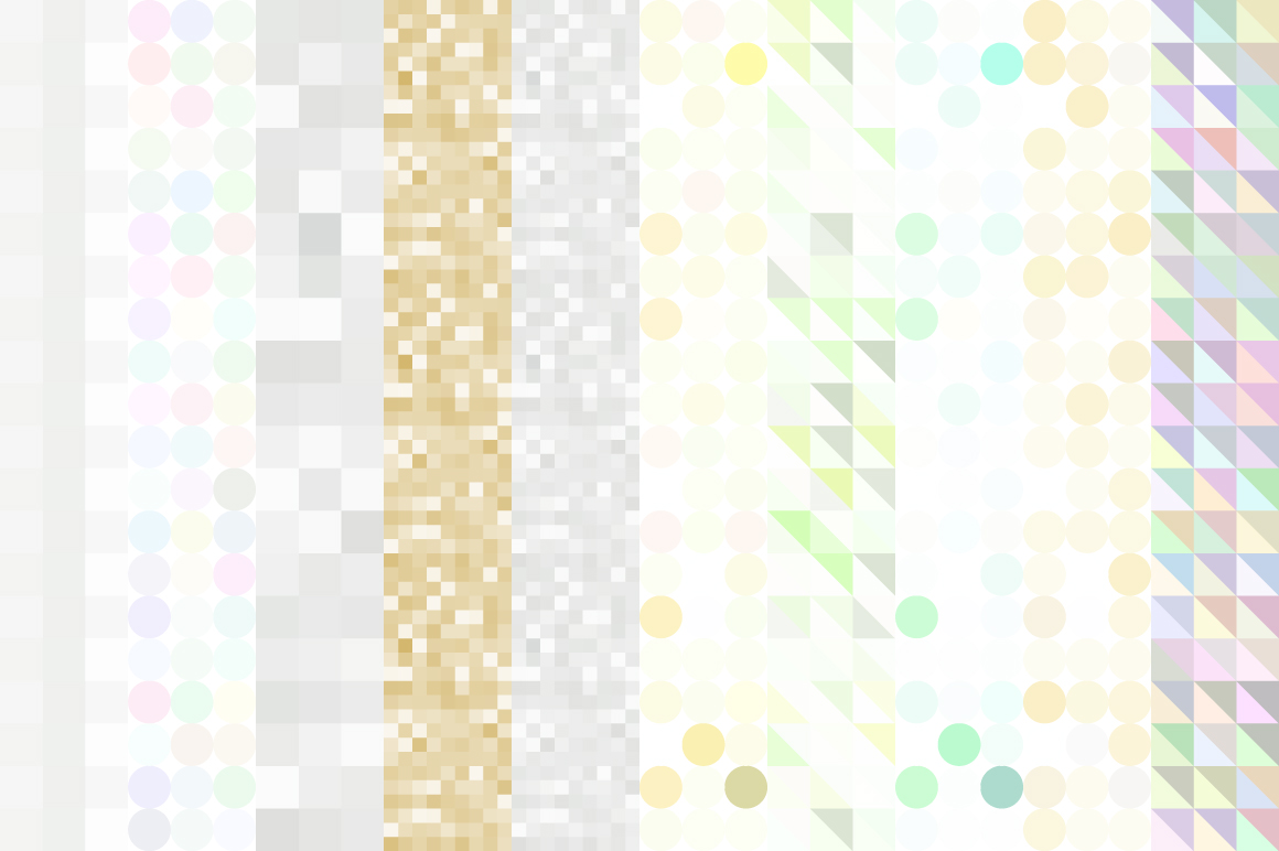 20 Glitter and Geometric patterns example image 4