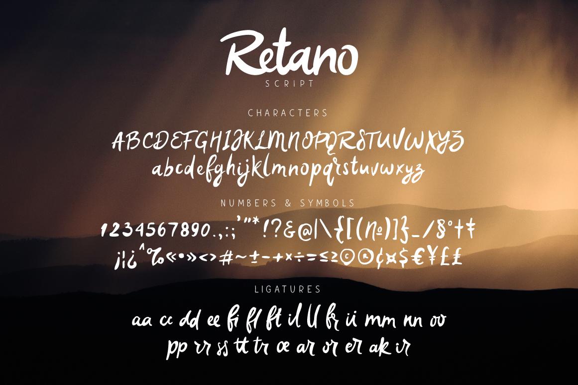 Retano Script example image 5