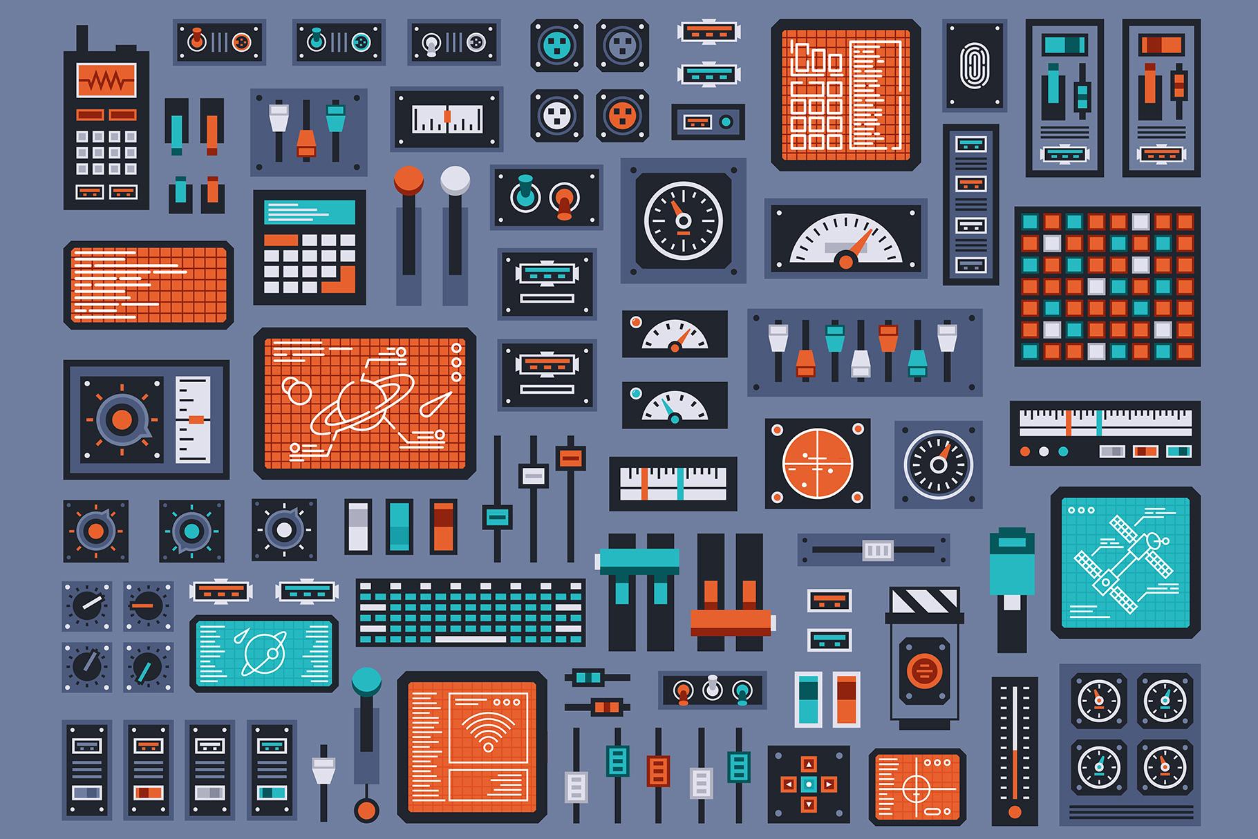 Control Panels Spaceship example image 2