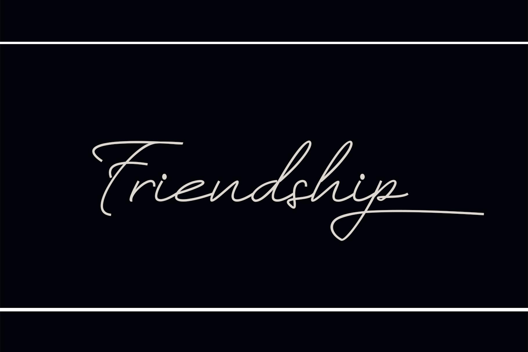 Friendship example image 1