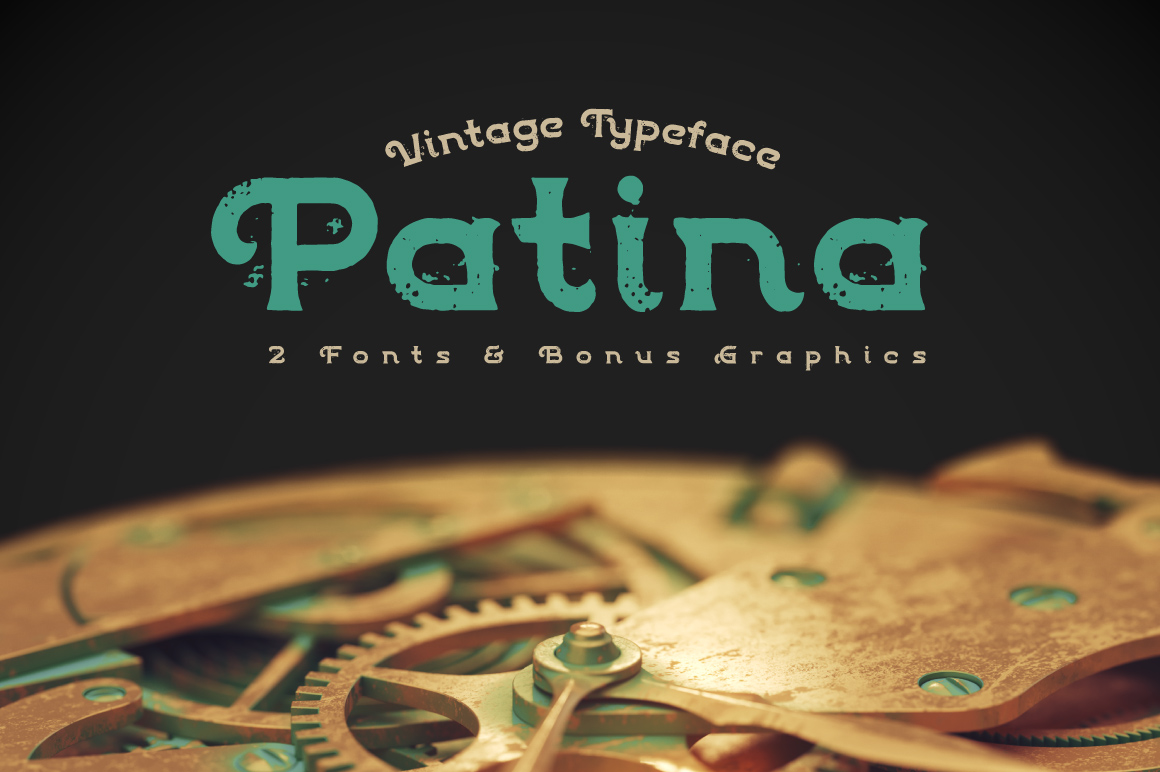 Patina font example image 1